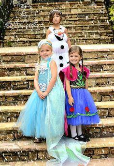 Gefrorene Anna Princess inspiriert Disney Tutu von BlissyCouture