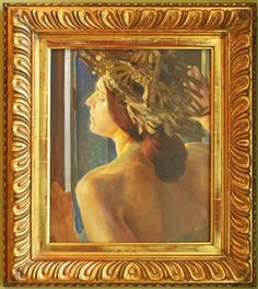 Jacek Malczewski, Study of a Woman by the Window on ArtStack #jacek-malczewski #art