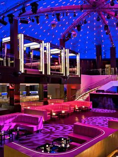 Liv Night Club  Upstairs would be only the one way mirrors  ut why not a multi level stage?
