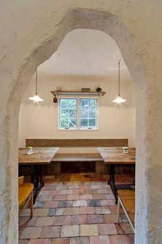 洞穴カフェ  パパママハウス 施工実例
