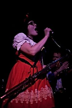 Ruth from Moulettes @ Hoxton Bar & Kitchen
