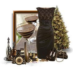 """""""Holiday Cocktails"""" by mz-happy on Polyvore"""