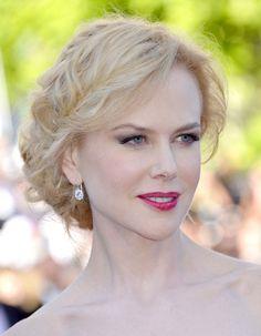 Cannes 2013 : les coiffures de stars font leur Festival : Nicole Kidman et son chignon multi-tresses