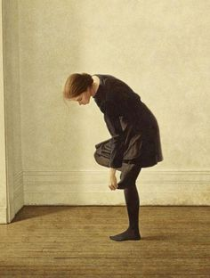 Michael Thompson, Girl with a Hole in Her Stocking
