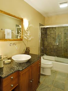Tropical Bathroom Design, Pictures, Remodel, Decor and Ideas - page 25