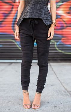 Songofstyle inspo - want these pants so bad.