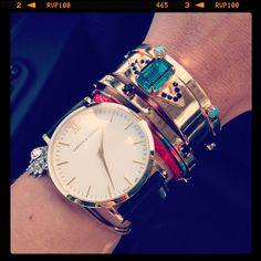 Favorites of the day by #Lumajewels !!! #bracelet #bijouxhautefantaisie #dore #gold #armparty #fashionjewelry #mode #larssonandjennings