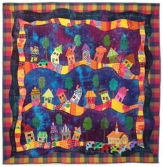 """""""Five-thirty A.M"""" by Amy Stewart Winsor. Featured in American Quilter Magazine, July 2010."""