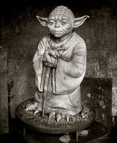 Lawrence Nobles' Iconic Yoda Statue
