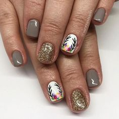 The advantage of the gel is that it allows you to enjoy your French manicure for a long time. There are four different ways to make a French manicure on gel nails. Get Nails, Fancy Nails, Love Nails, Pretty Nails, Hair And Nails, Color Nails, Hair Gel, Nail Colors, Fall Nail Art Designs