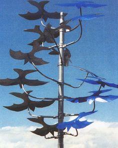 Kinetic garden sculpture | kinetic-metal-wind-garden-sculpture-14-blue-birds-74c49.jpg 419×525 ...