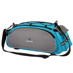 This kind of multifunctional cycling #bag is very popular.The simple design with good quality is so eye-catching.With carrying handle and adjustable shoulder strap.You can easy to mount on all types of bicycles. You can't miss it! http://www.tomtop.cc/yEn6Z3