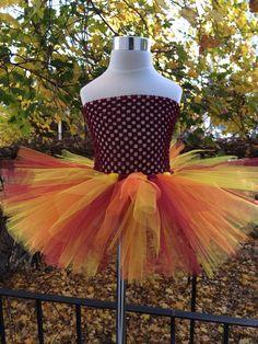 Turkey Day Tutu Dress by Arribelle on Etsy, $43.00