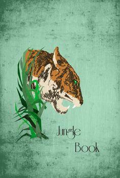 The Jungle Bookby Harshness - Graphic Design - Cinema movie poster film minimalist