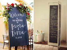 QuirkyParties - Black Chalk Board