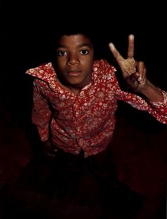 Not sure the originator of this photo, but YES.. YES and YES! Little Michael! RIP MJ! PEACE!
