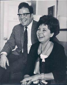 Walter Berry y su esposa, Christa Ludwig