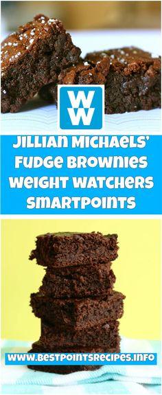 Jillian Michaels' Fudge Brownies 4 weight watchers smartpoints | best points recipes