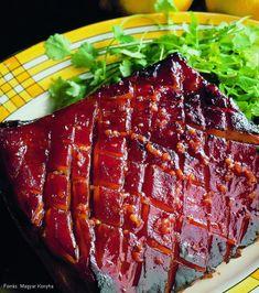 Mézes, fűszeres malacoldalas – Receptletöltés Meatloaf, New Product, Steak, Bacon, Food Porn, Pork, Advent, Kale Stir Fry, Steaks