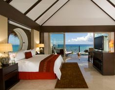 room with private pool at Grand Velas Resort and spa