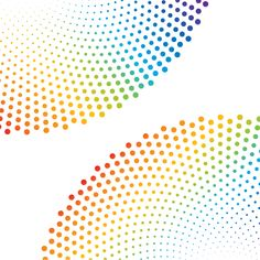 Free Vector Halftone Dot Pattern
