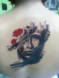 Beautiful girl tattoo