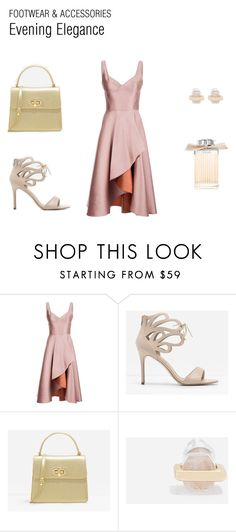 """""""Evening Elegance"""" by charlesandkeith ❤ liked on Polyvore featuring Jason Wu, CHARLES & KEITH and Chloé"""