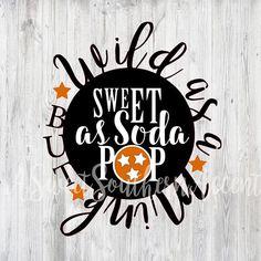 Tennessee Wild as a Mink Sweet as soda pop decal window