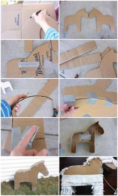 http://www.kidspot.com.au/things-to-do/activities/how-to-turn-a-cardboard-box-into-a-pinata