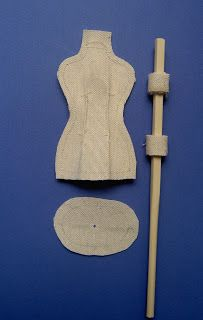Pattern and instructuons for small mannequin Doll Crafts, Sewing Crafts, Sewing Projects, Cardboard Crafts, Fabric Crafts, Barbie, Shabby Chic Crafts, Sewing Rooms, Diy Arts And Crafts