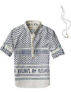 Beachy Kaftan Shirt