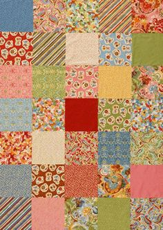 Sew Easy Quilts  Super easy for the person with little time.
