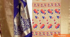 Traditional Indian Handloom Pathani Sarees ( पैठणी) on Life Keep Teaching http://lifekeepteaching.com