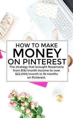 The strategy that brought Rosemarie from $18/month income to over $22,000/month in 19 months on Pinterest. The Pinterest Strategy Guide is appropriate for every level of Blogger. From someone who has never even heard of Pinterest and wants to expand their audience to someone who's already dominating Pinterest and wants to see how my strategy differs from theirs.