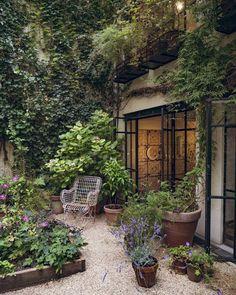 Diy Garden, Garden Cottage, Dream Garden, Garden Art, Small Cottage Garden Ideas, Cozy Cottage, Garden Design Plans, Modern Garden Design, Modern Design