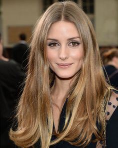 Olivia Palermo  - 2018 Light brown hair & classic hair style.