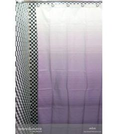 1000 images about bathroom on pinterest striped shower for Purple ombre shower curtain