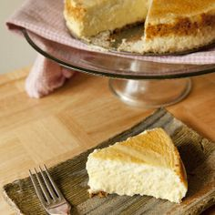 Classic light and airy Cheesecake - the best Cheesecake you'll ever eat!