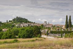 View across to Forcalquier