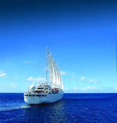 Windstar Cruises: Soothing sounds of the open sea when sails are up and engines off.  http://www.windstarcruises.com/blog/