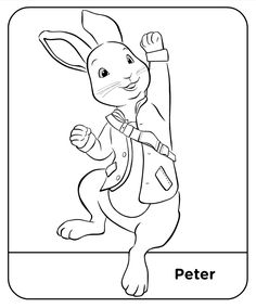 Coloring Pages Peter Rabbit Free Online Printable Sheets For Kids Get The Latest Images Favorite