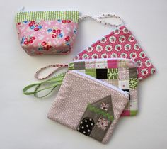"""zippered pouch tutorial from """"i have to say...""""  Sewed in my first zipper with this tutorial 3/27/12"""