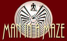 The design, depicting a man exiting a labyrinth, is most often seen on basketry dating back as far as the nineteenth century, and occasionally in Hopi silver art. This symbol is said to represent a person's journey through life. Although the design appears to be a maze, it is actually a unicursal figure with many twists and turns; these are said to represent choices made in life. The center is dark, as the journey is one from darkness to light.
