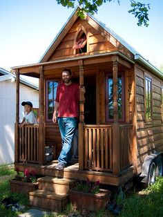 tiny houses This is a movement across the world,. Smart living and eco friendly. You can build one for less then 15K and put it on your own land. HOmestead it and the government can never touch it