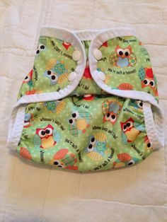 One Size Boy or Girl Hybrid Cloth Diaper Cover by PsalmBaby, $9.49