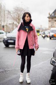STYLE DU MONDE / Paris Fashion Week FW 2014 Street Style: Charlotte Stockdale  // #Fashion, #FashionBlog, #FashionBlogger, #Ootd, #OutfitOfTheDay, #StreetStyle, #Style