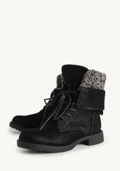 Tundra Bound Lace-Up Boots