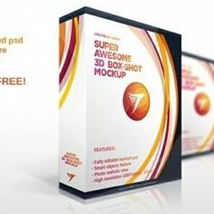 Download free high quality PSD product box mockup - Mockups. No waiting time required! Fast download.
