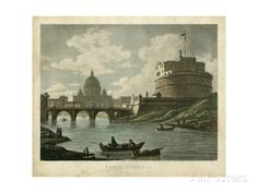 Ponte St. Angelo Poster by Merigot at AllPosters.com