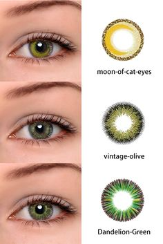 Have you always wanted to achieve that beautiful cat eye look with your eyeliner? If you're having a hard time, there are some easy cat eyes makeup tips you can try out. Cosmetic Contact Lenses, Eye Contact Lenses, Lenses Eye, Cat Eye Makeup, Eye Makeup Tips, Makeup Products, Colored Eye Contacts, Hazel Eye Contacts, Easy Cat Eye
